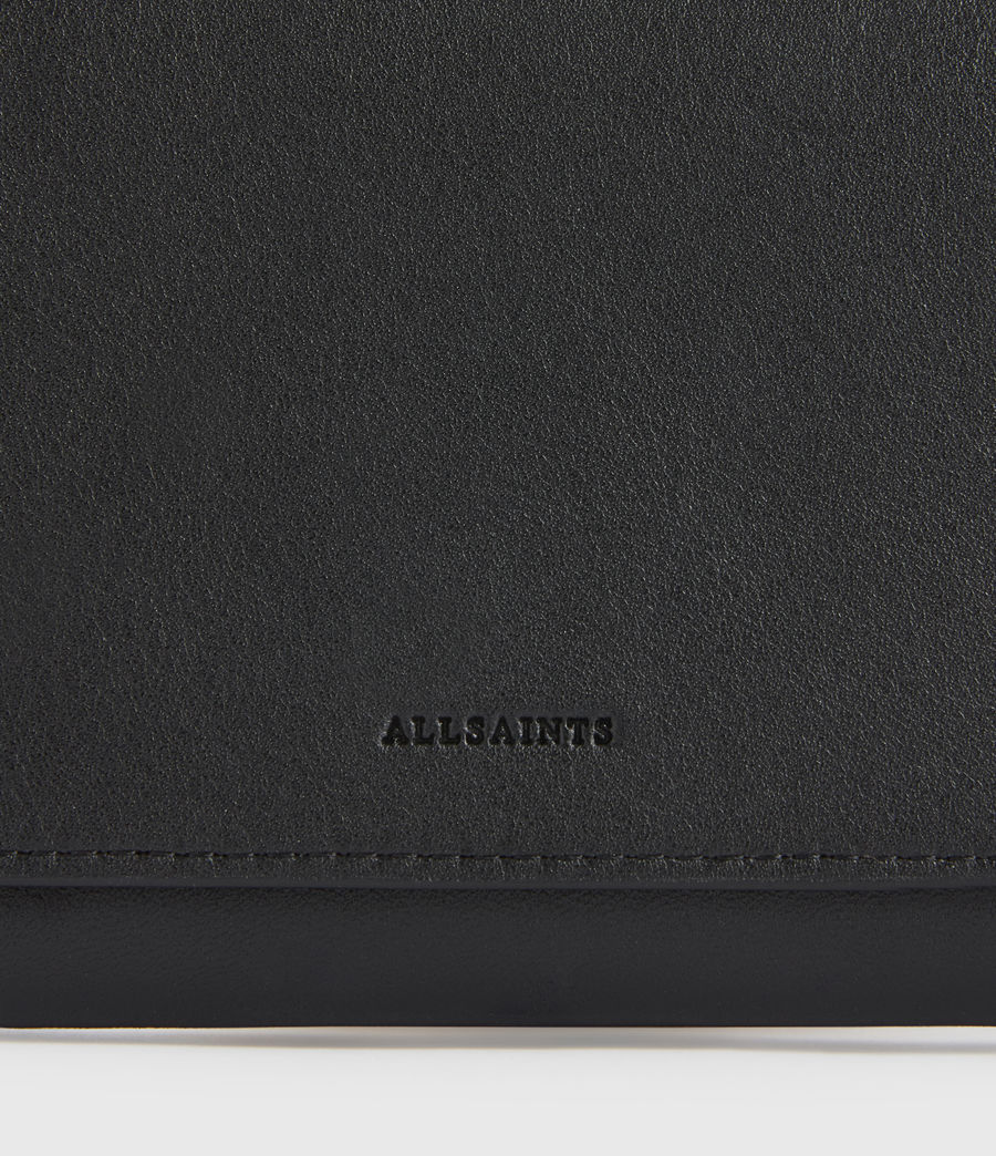 Women's Albert Leather Wallet (black) - Image 4