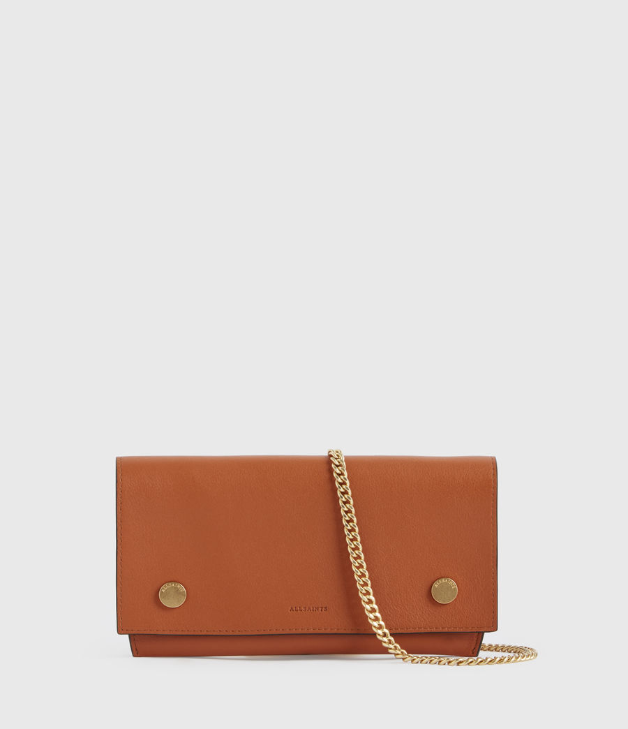 Donne Albert Leather Wallet (rust_orange) - Image 1