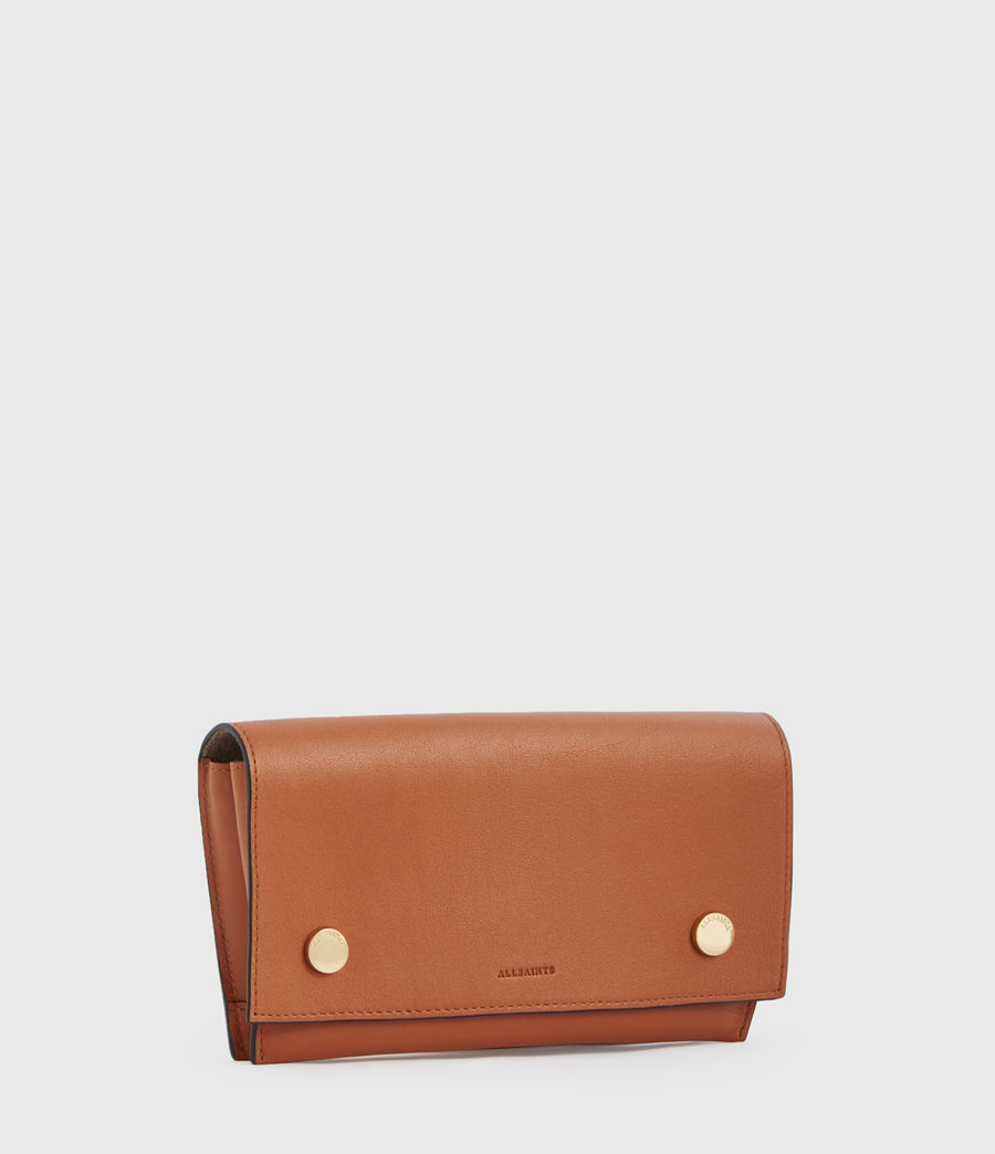 Donne Albert Leather Wallet (rust_orange) - Image 3