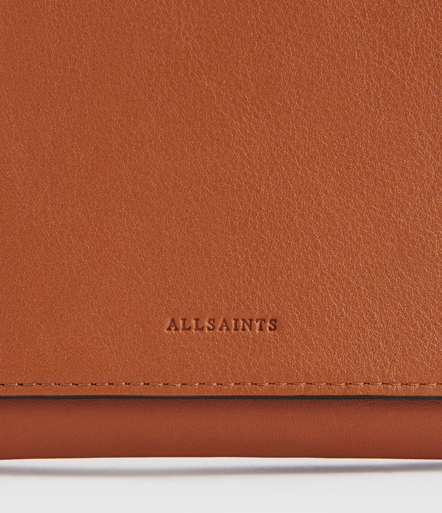 Donne Albert Leather Wallet (rust_orange) - Image 4