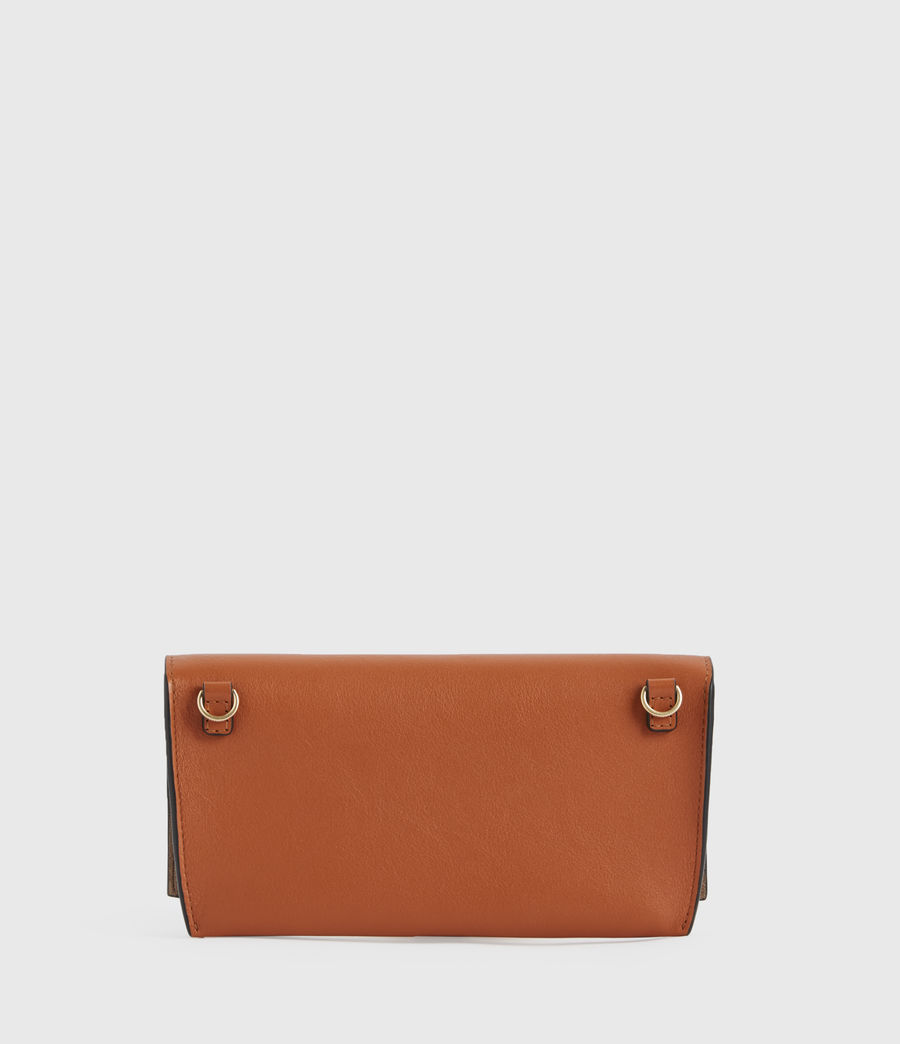 Donne Albert Leather Wallet (rust_orange) - Image 6