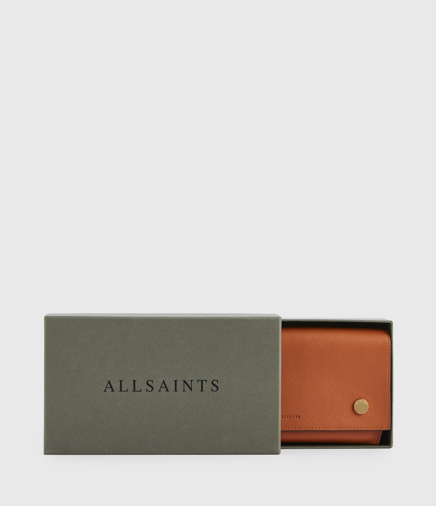 Donne Albert Leather Wallet (rust_orange) - Image 7