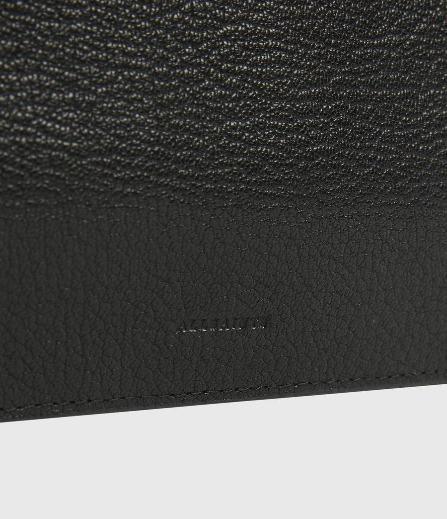 Womens Marry Leather Pochette (black) - Image 5