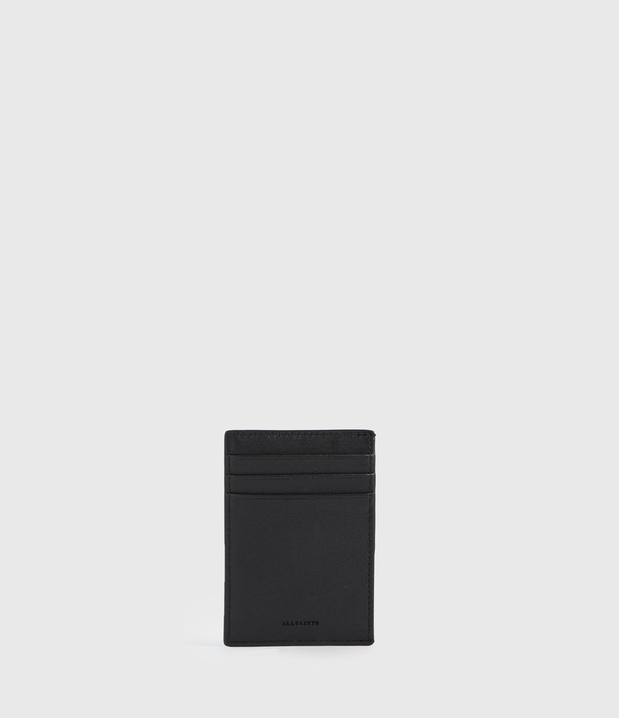 Womens Anabel Leather Cardholder (black) - Image 1