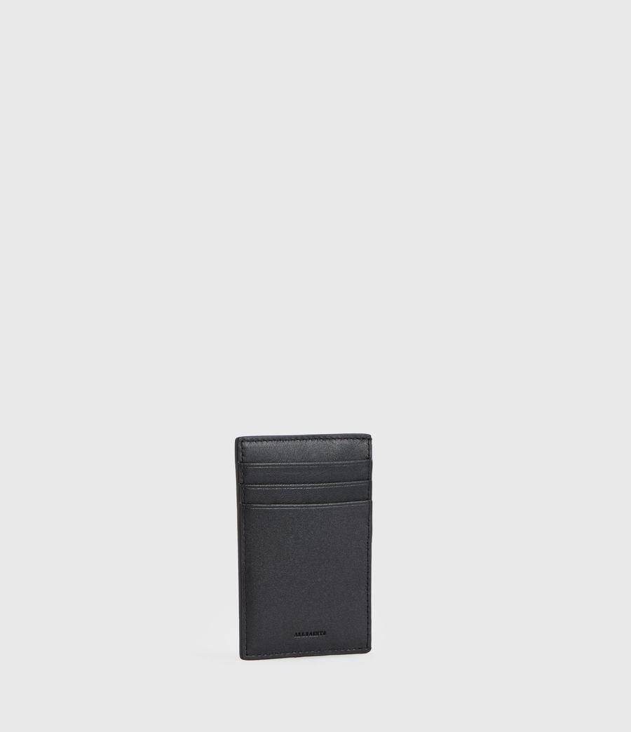 Womens Anabel Leather Cardholder (black) - Image 3