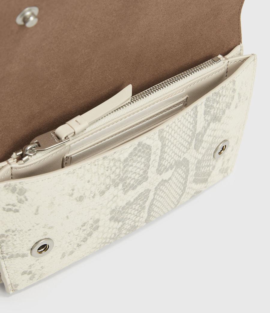 Womens Albert Leather Wallet (chalk_white) - Image 2
