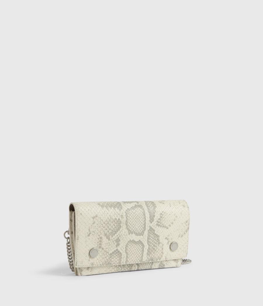 Women's Albert Leather Wallet (chalk_white) - Image 2