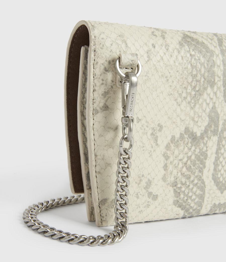 Women's Albert Leather Wallet (chalk_white) - Image 4