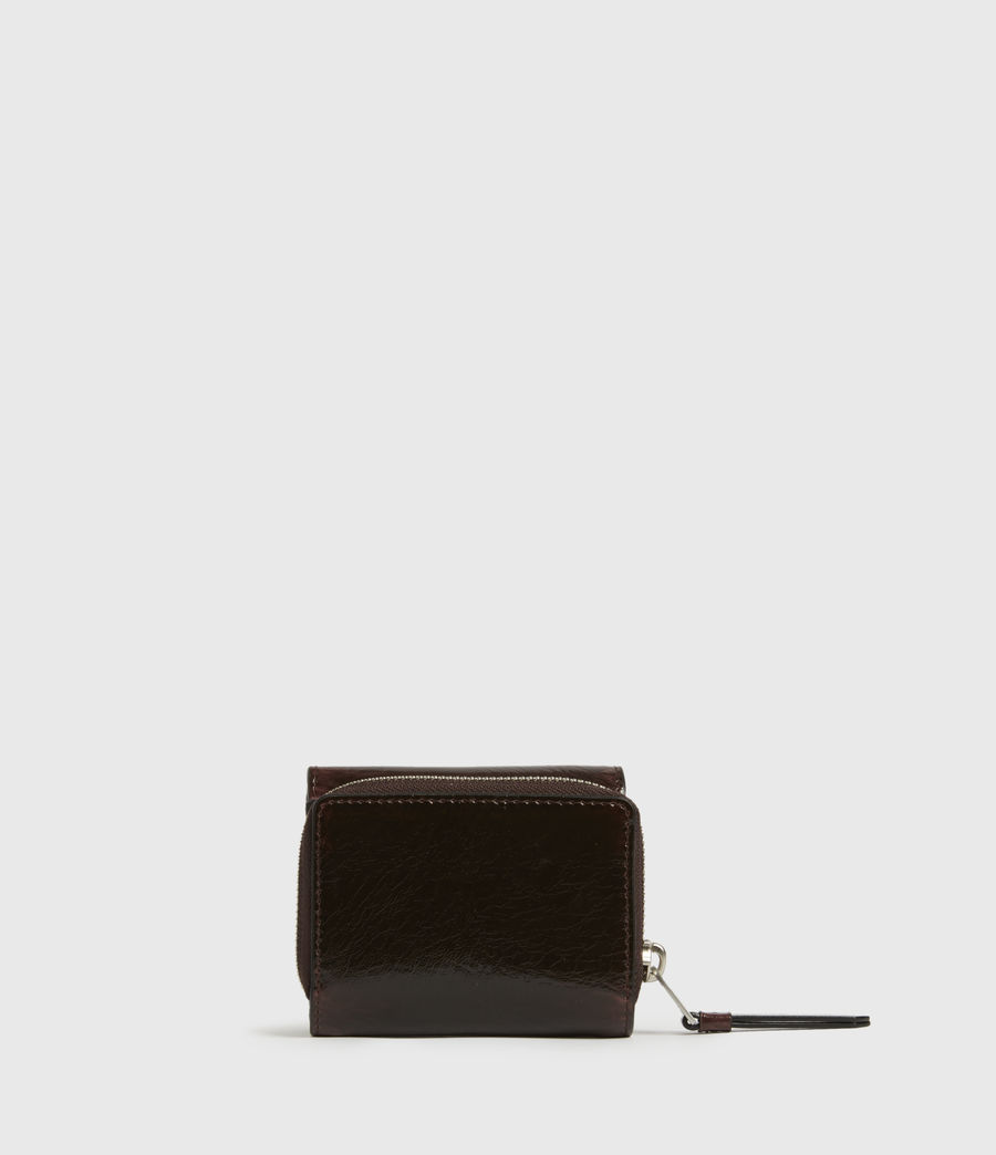 Womens Bede Leather Cardholder (oxblood_brown) - Image 6