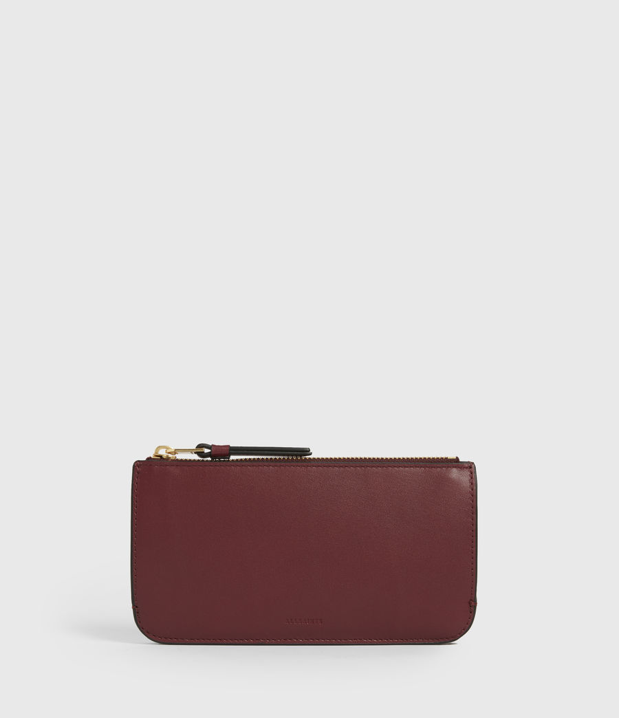 Women's St James Leather Wallet (burnt_sienna_red) - Image 1