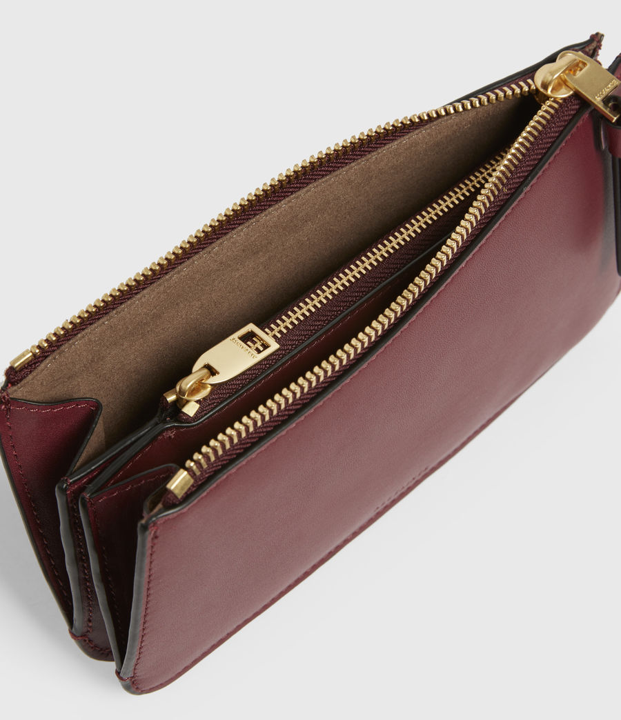 Women's St James Leather Wallet (burnt_sienna_red) - Image 2
