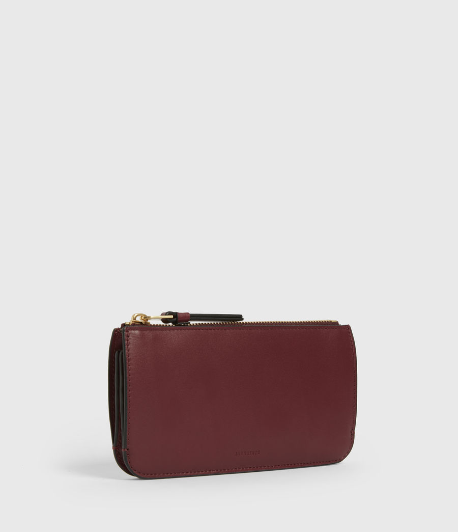 Women's St James Leather Wallet (burnt_sienna_red) - Image 3