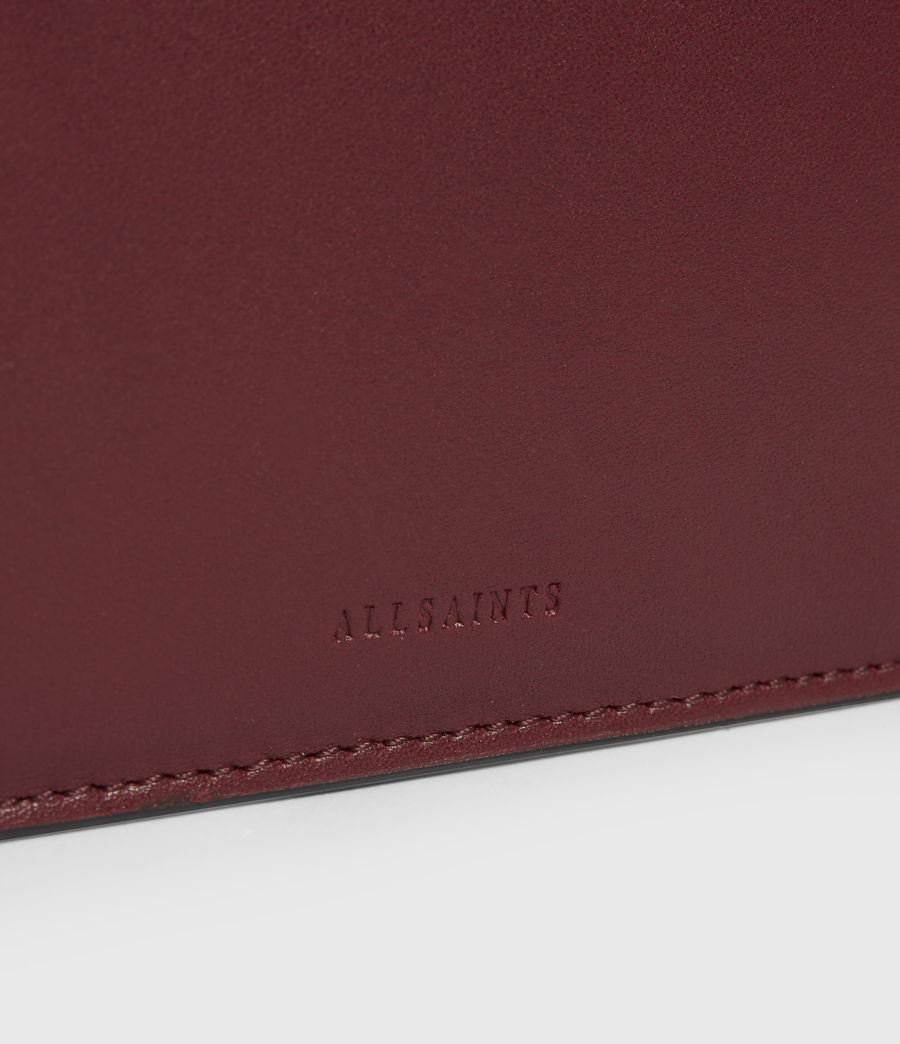 Women's St James Leather Wallet (burnt_sienna_red) - Image 4