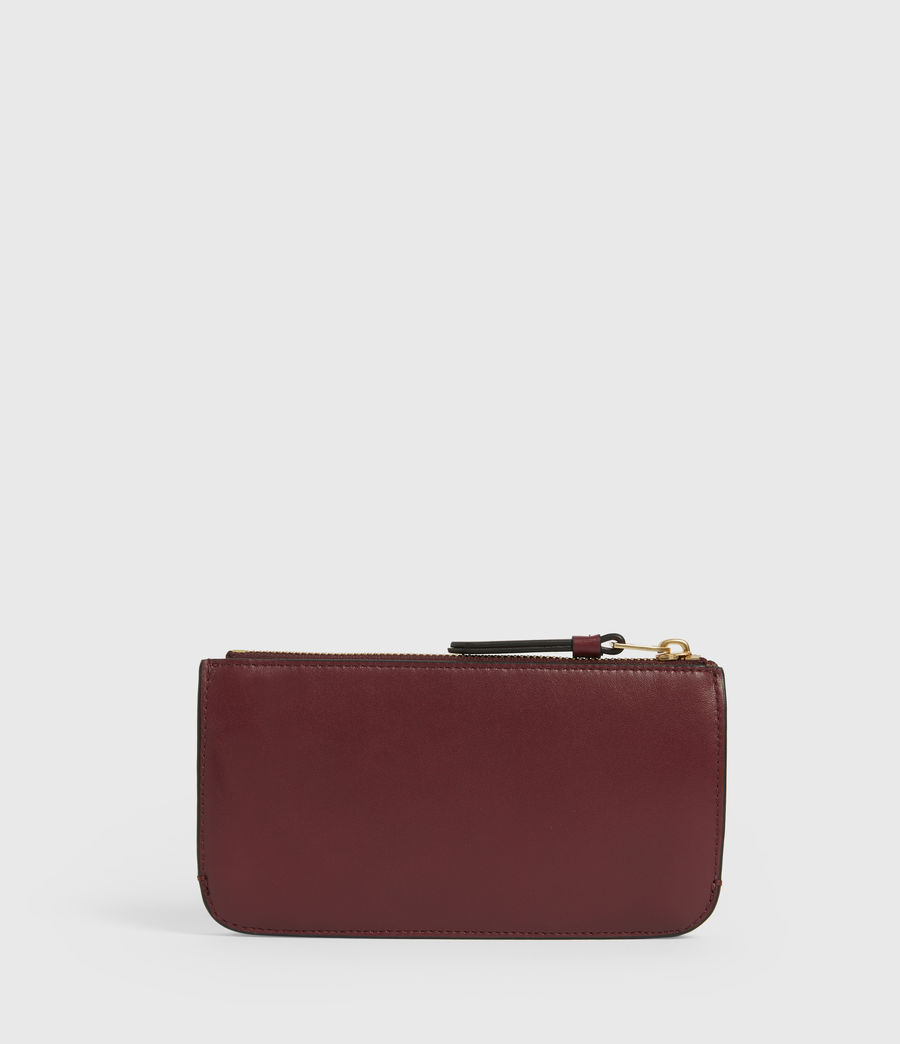 Women's St James Leather Wallet (burnt_sienna_red) - Image 5