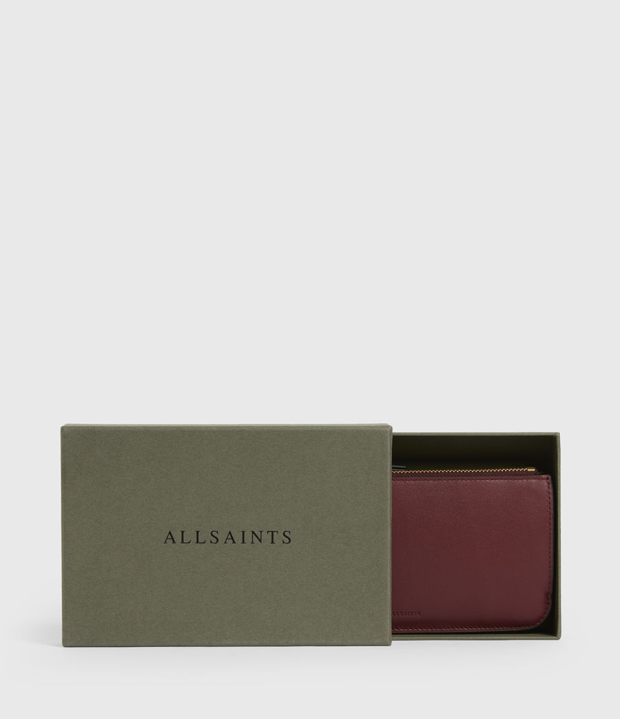Women's St James Leather Wallet (burnt_sienna_red) - Image 6