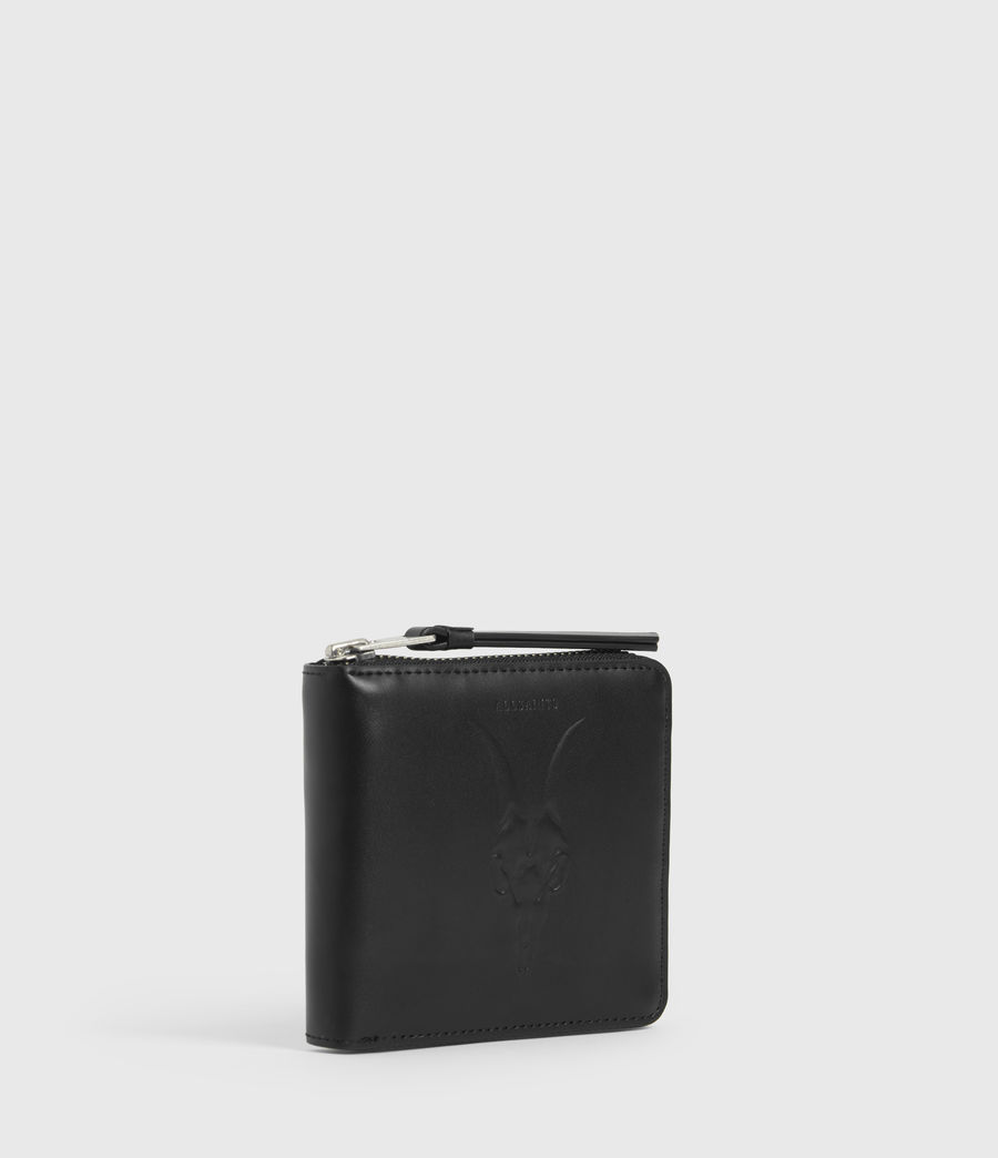 Women's Clapham Leather Wallet (black) - Image 2