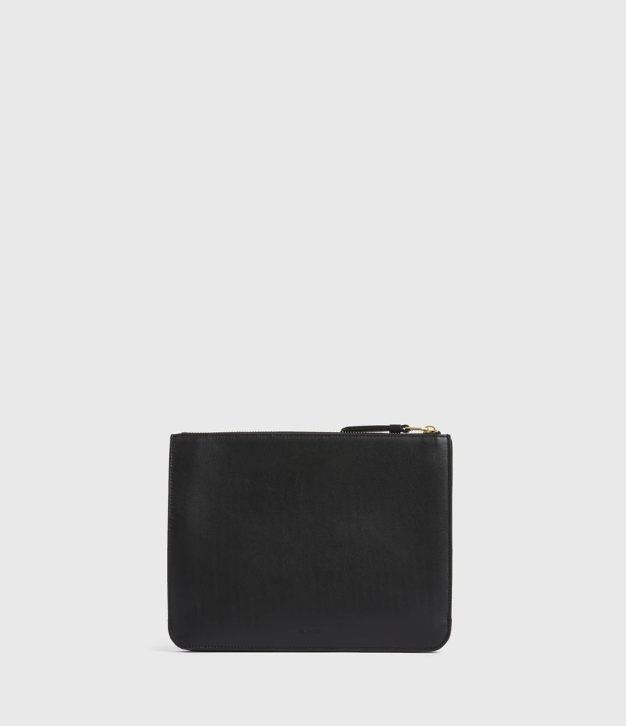 Women's Denbigh Leather Wallet (black) - Image 1