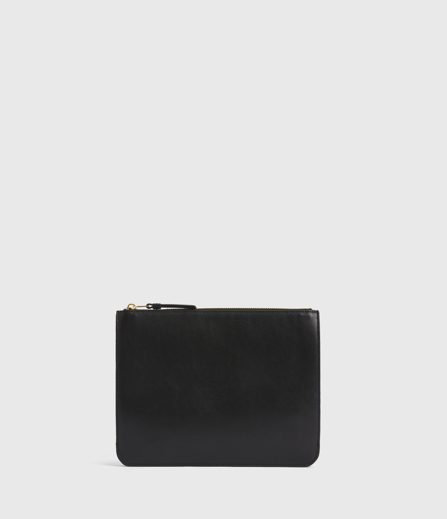 Women's Denbigh Leather Wallet (black) - Image 6