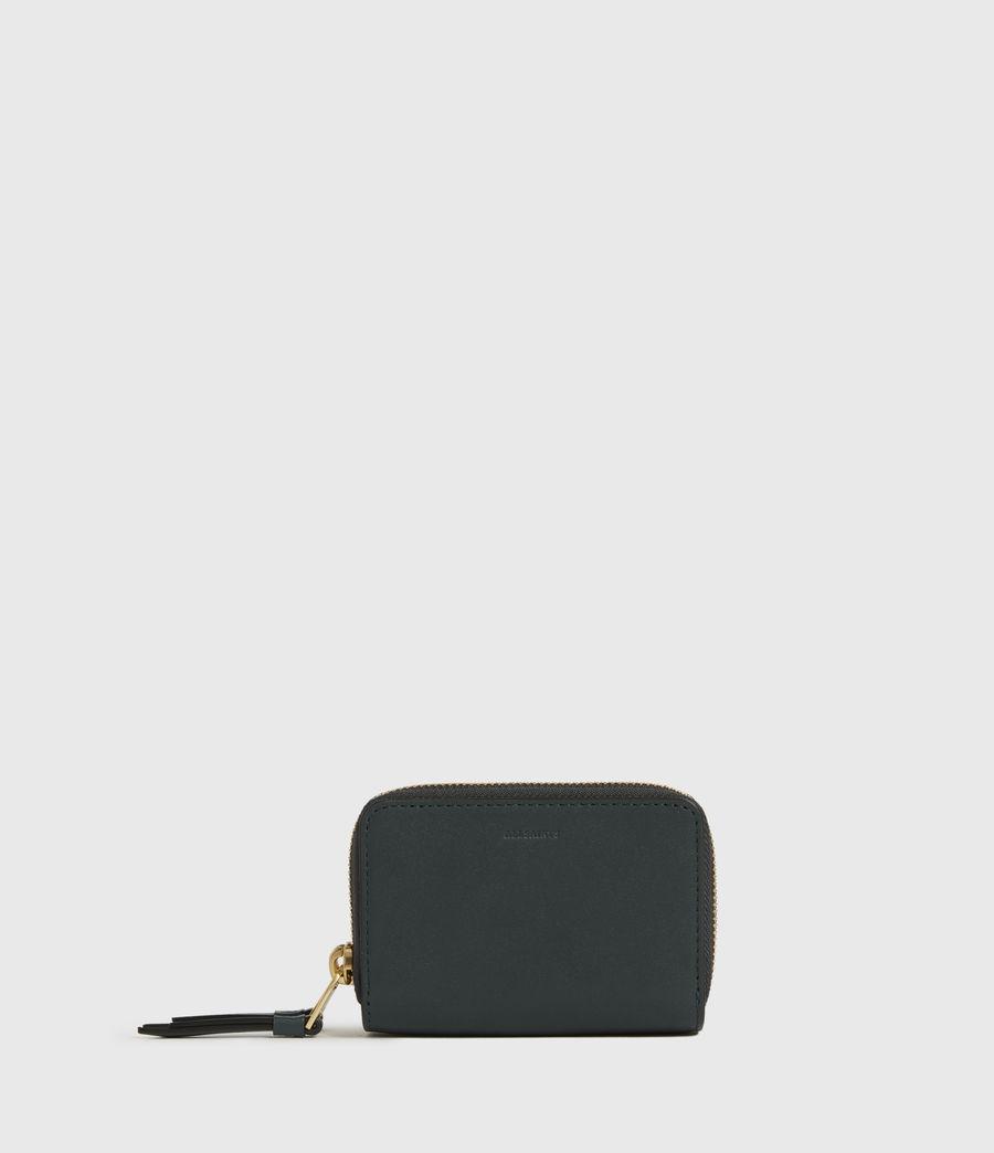 Women's Nantes Leather Cardholder (dark_green) - Image 1