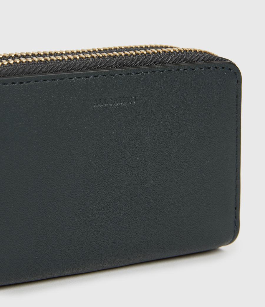 Women's Nantes Leather Cardholder (dark_green) - Image 4