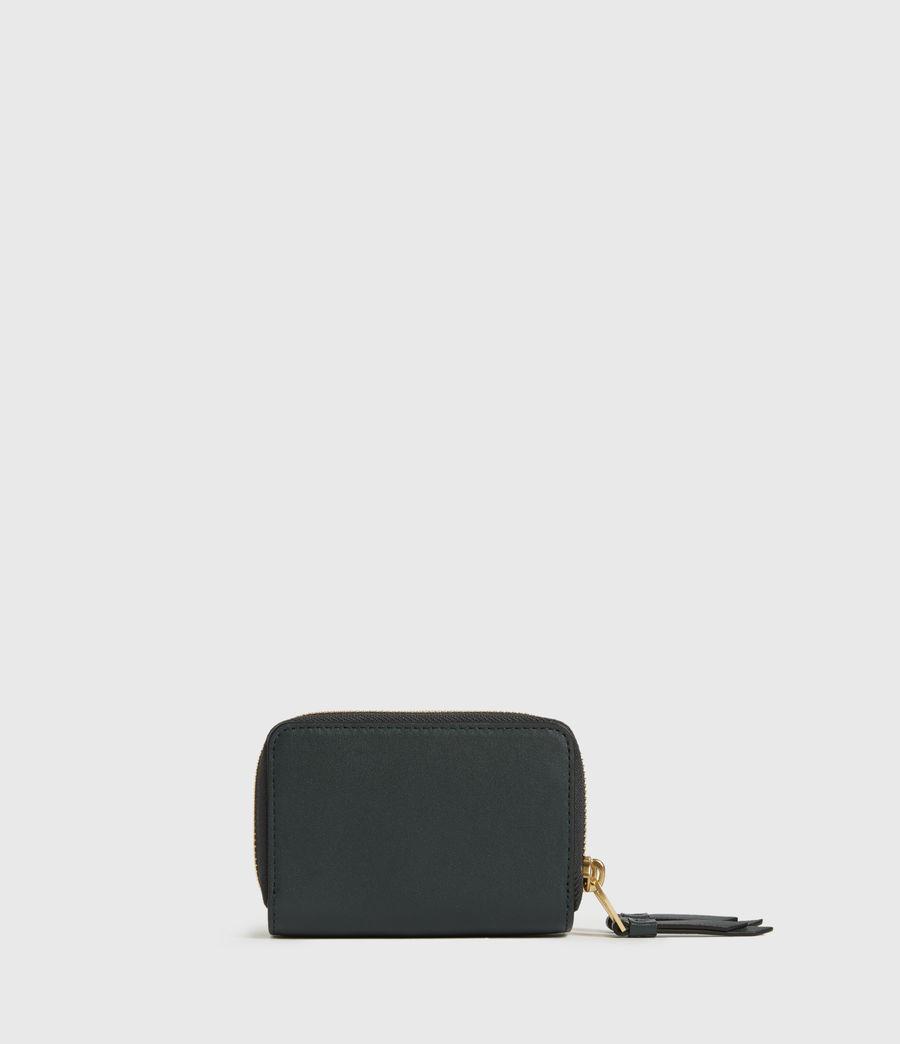 Women's Nantes Leather Cardholder (dark_green) - Image 5