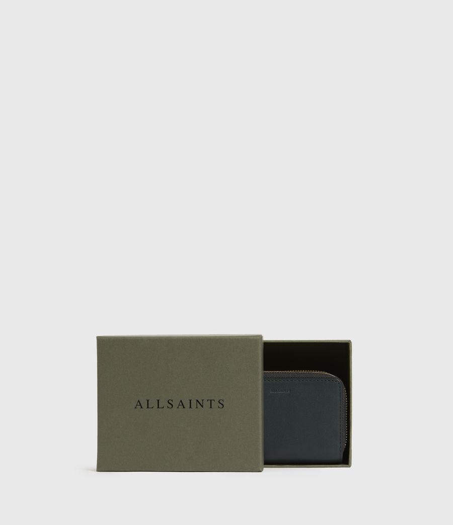 Women's Nantes Leather Cardholder (dark_green) - Image 6