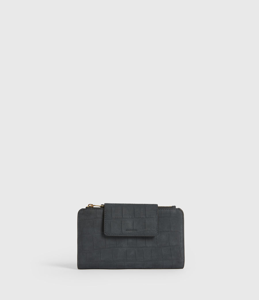Women's Mitchell Leather Wallet (petrol_blue) - Image 1