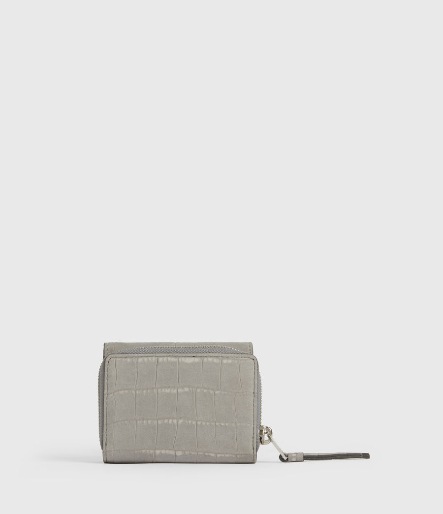 Women's Bede Leather Cardholder (mist_grey) - Image 6