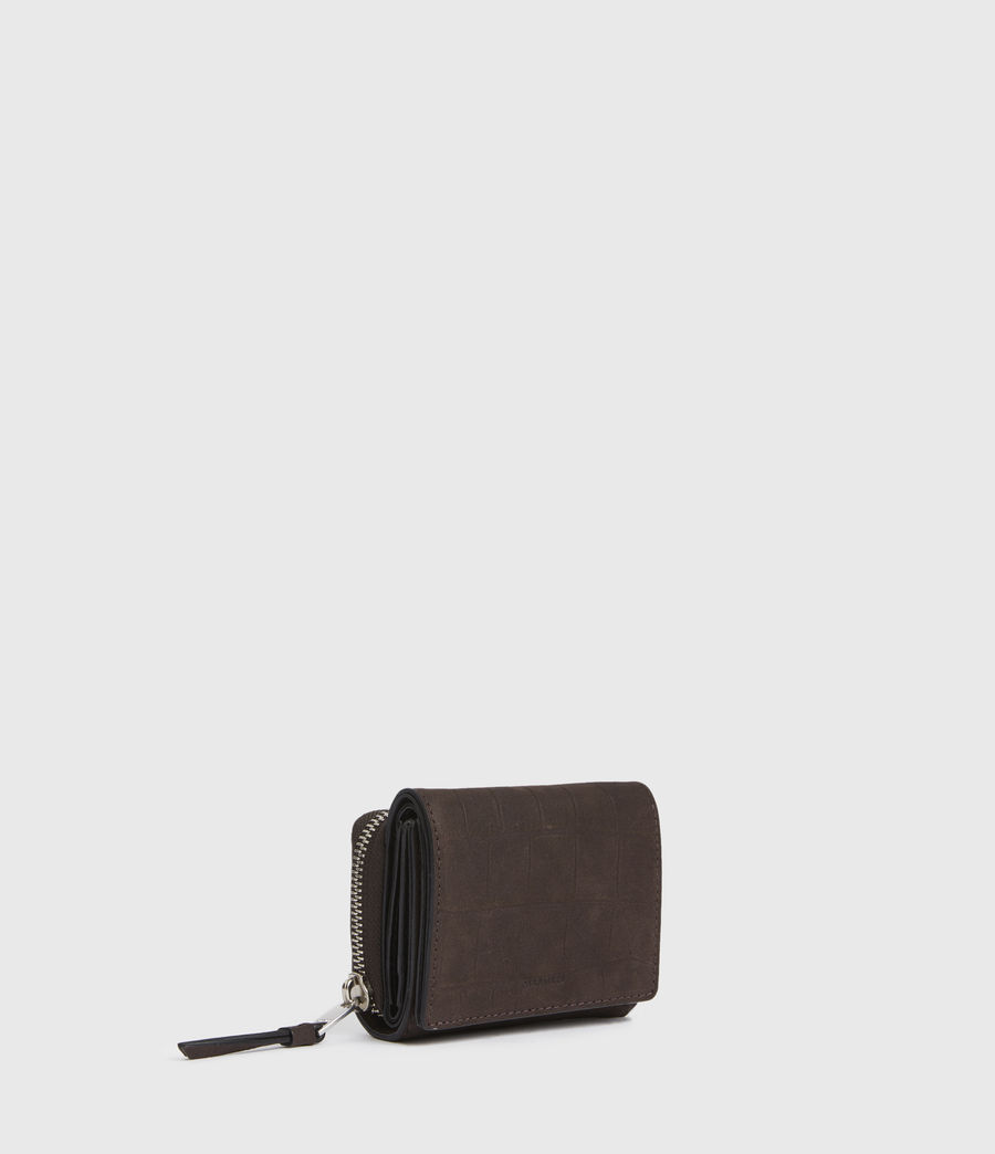 Womens Bede Leather Cardholder (peat_brown) - Image 3
