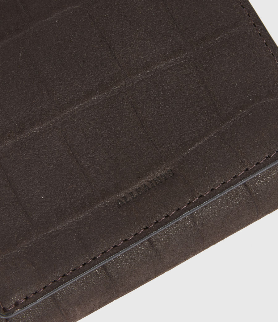 Womens Bede Leather Cardholder (peat_brown) - Image 4
