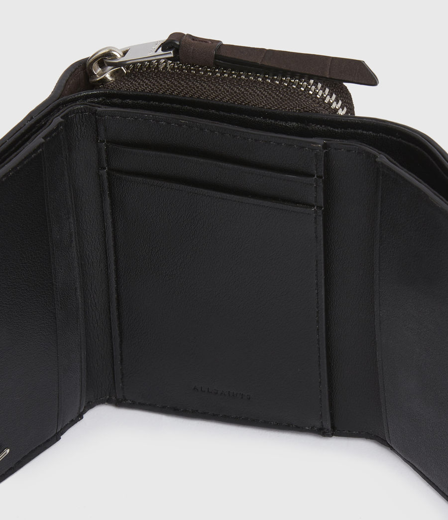 Womens Bede Leather Cardholder (peat_brown) - Image 5