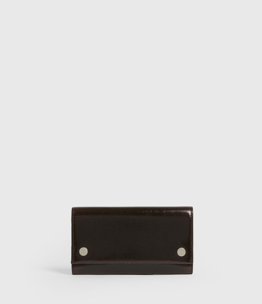 Women's Holland Leather Wallet (oxblood_brown) - Image 1