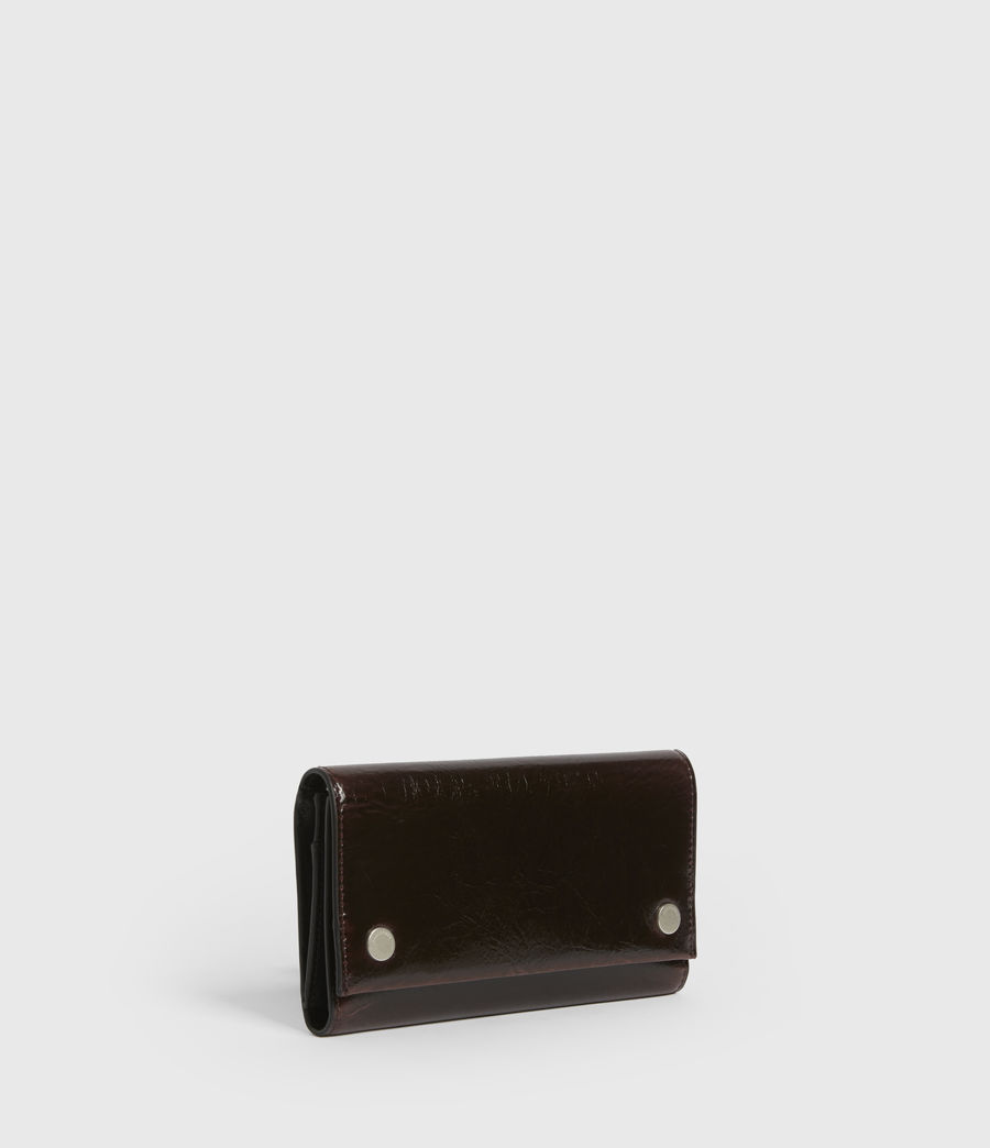 Women's Holland Leather Wallet (oxblood_brown) - Image 3