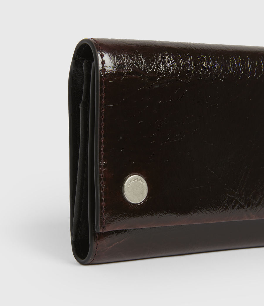 Women's Holland Leather Wallet (oxblood_brown) - Image 4