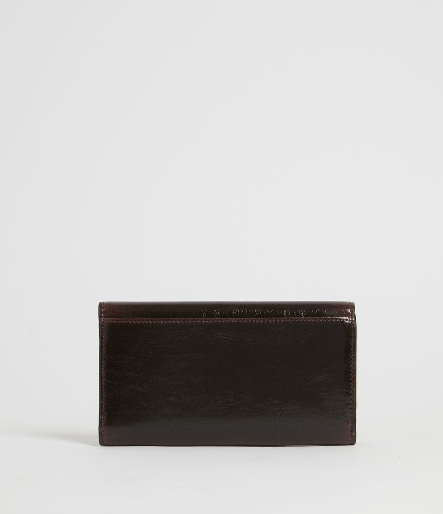 Women's Holland Leather Wallet (oxblood_brown) - Image 5