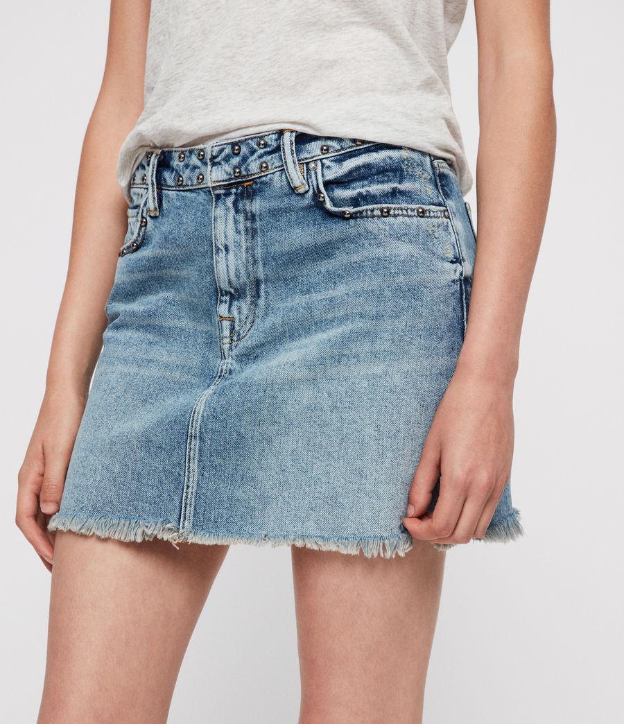 Mujer Betty Studded Skirt (vintage_indigo) - Image 2