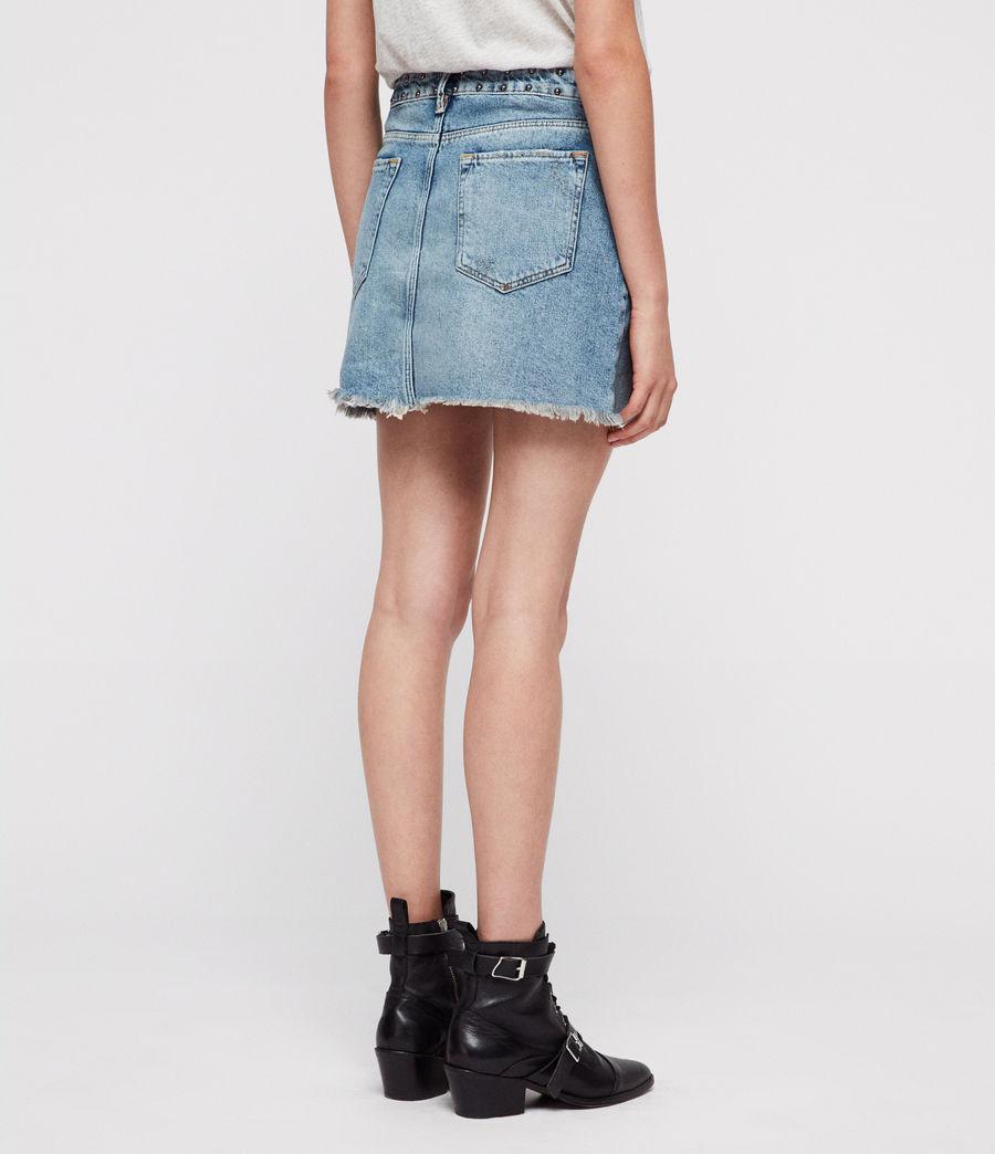 Mujer Betty Studded Skirt (vintage_indigo) - Image 3