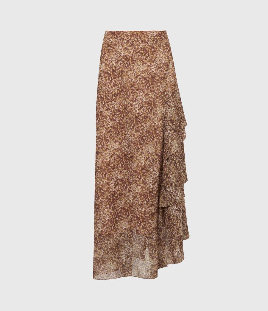 Women's Kali Tabby Skirt (chestnut) - Image 2