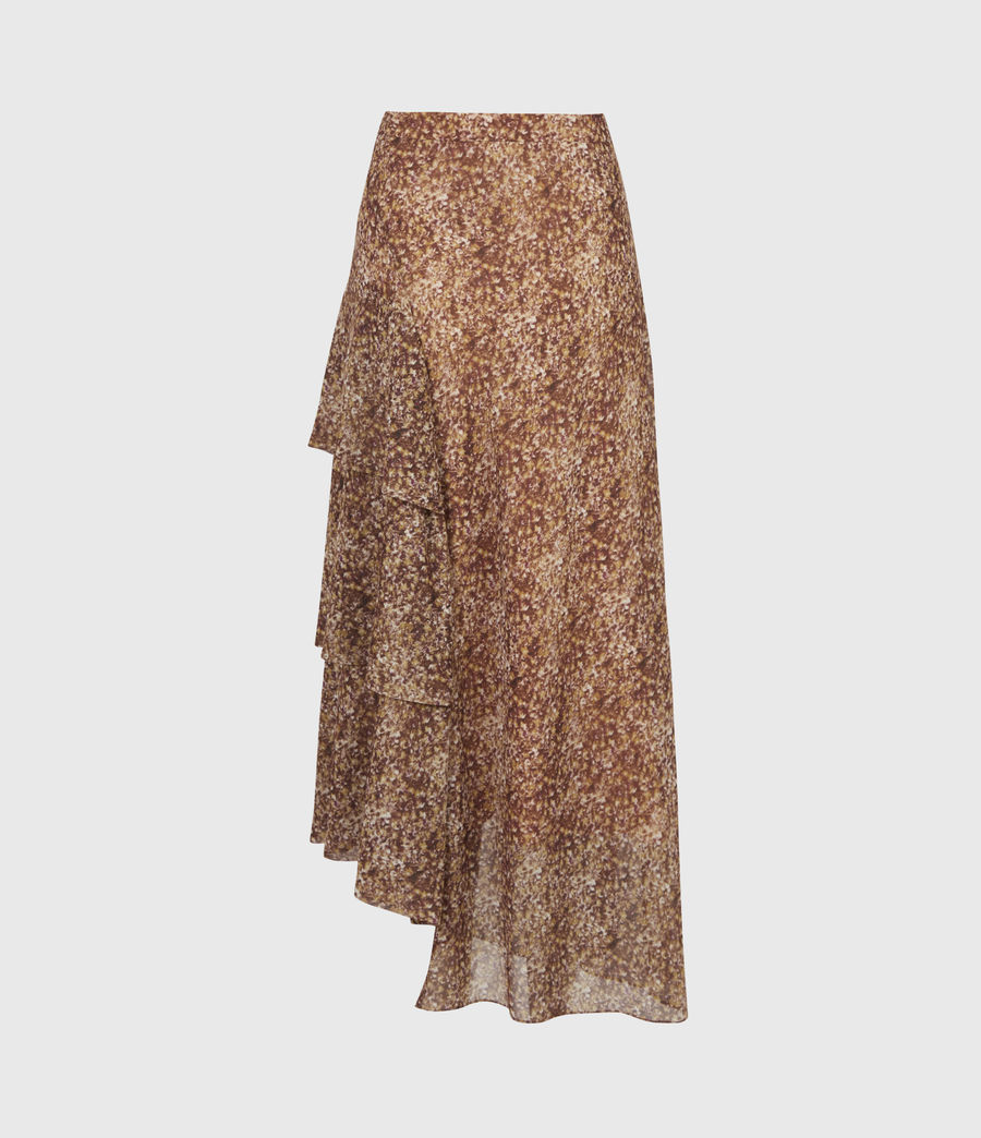 Women's Kali Tabby Skirt (chestnut) - Image 3