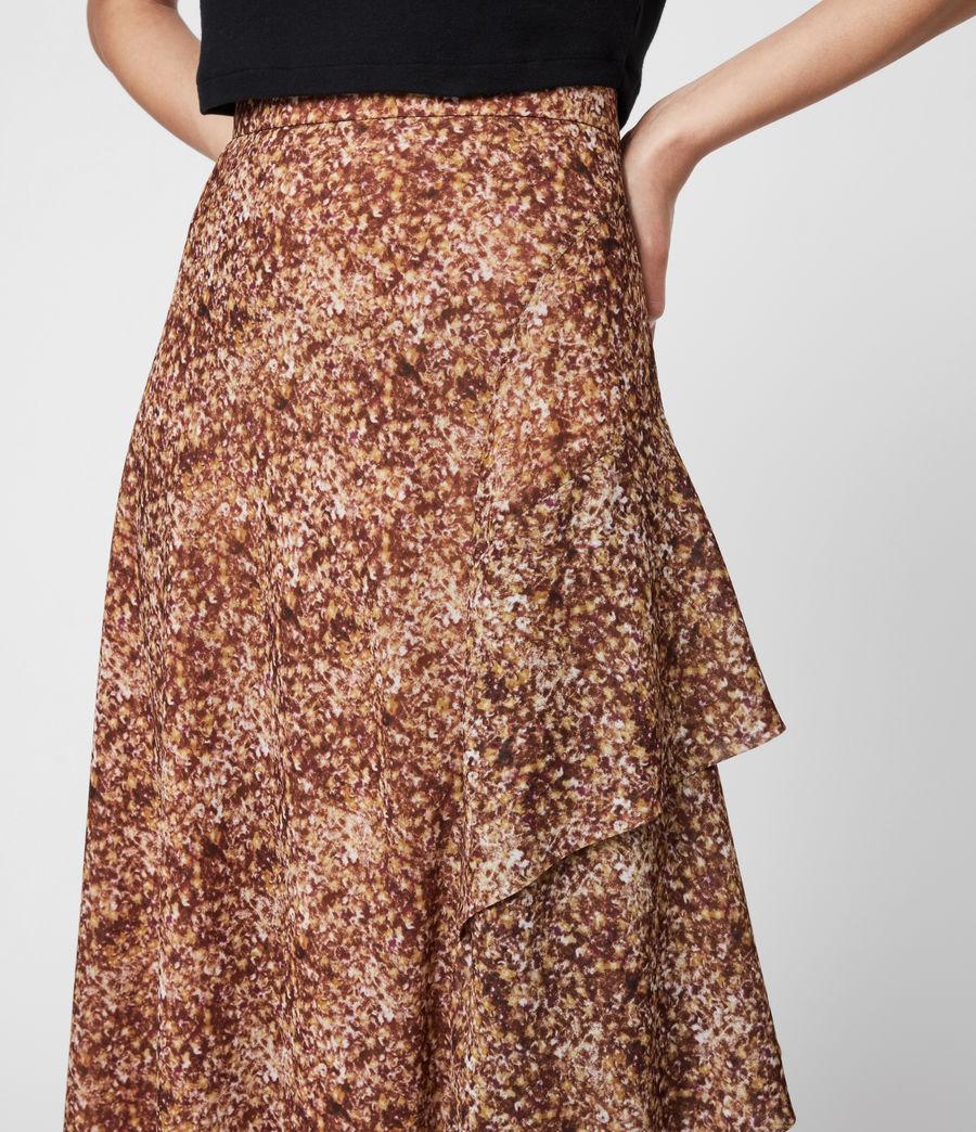 Women's Kali Tabby Skirt (chestnut) - Image 6