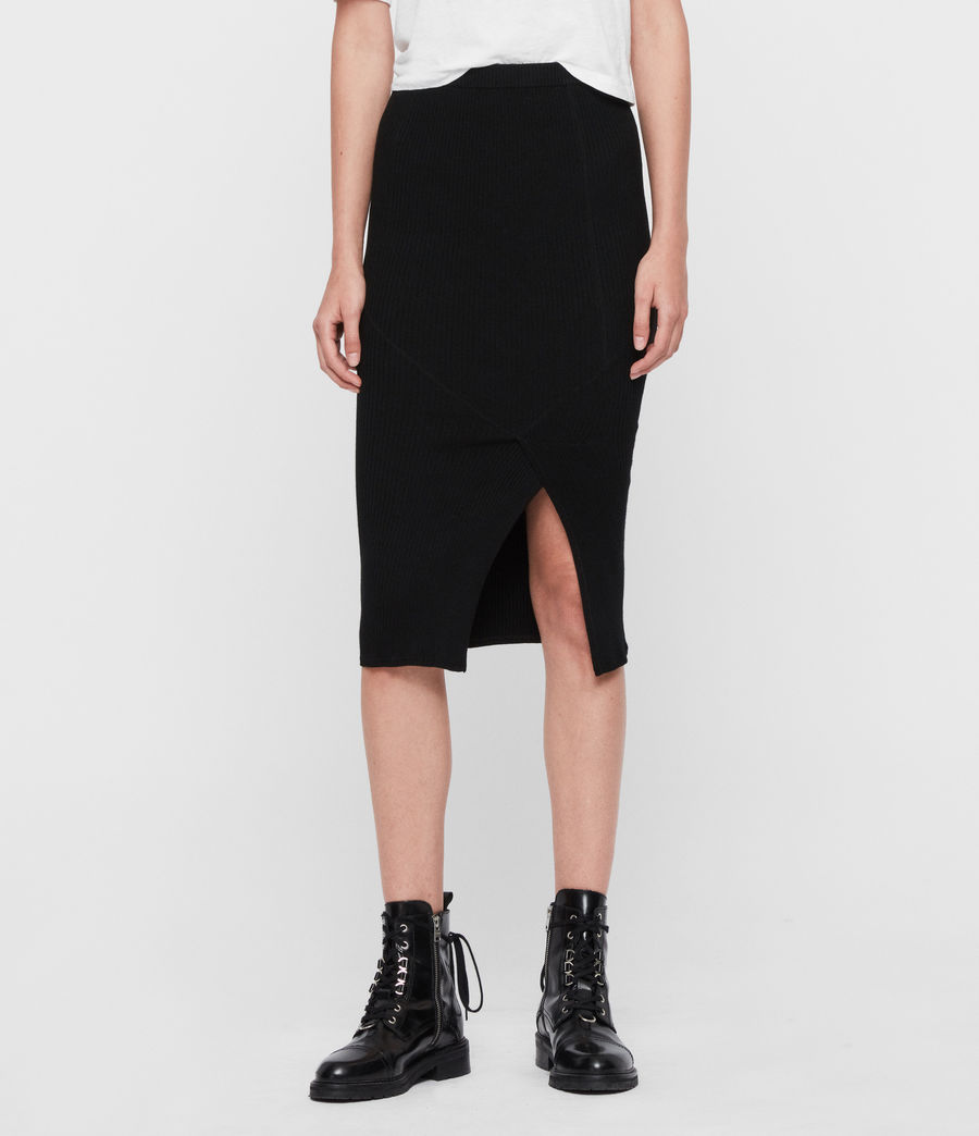 Womens Nala Skirt (black) - Image 2