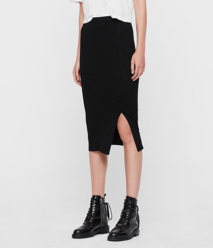 Womens Nala Skirt (black) - Image 3