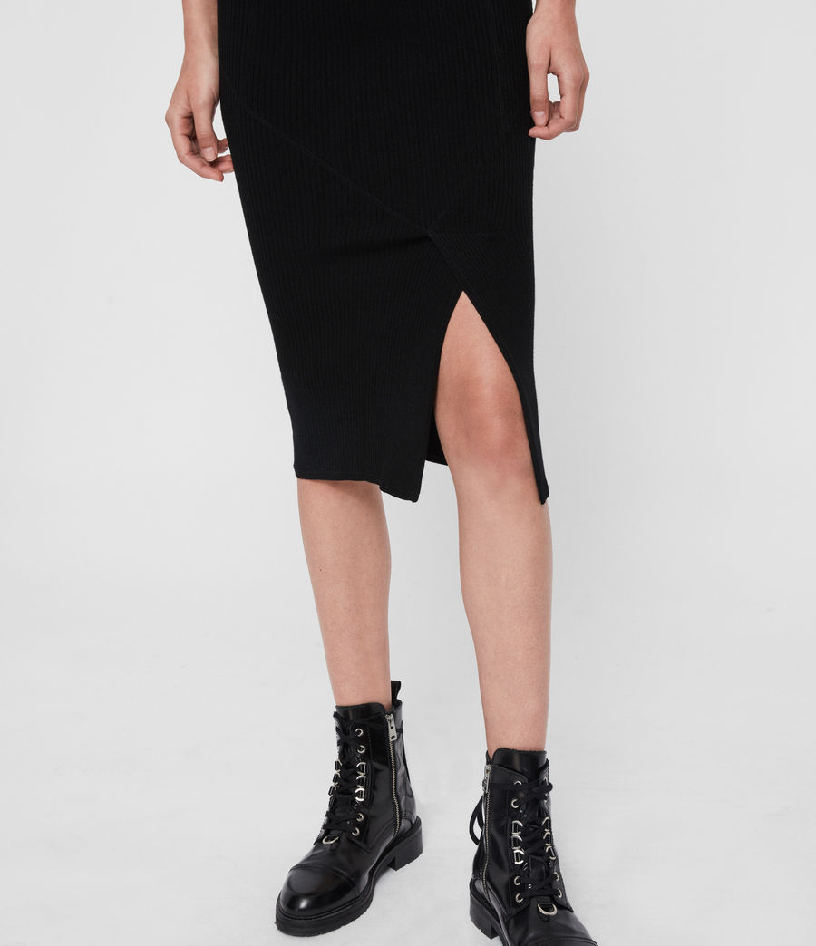 Womens Nala Skirt (black) - Image 4
