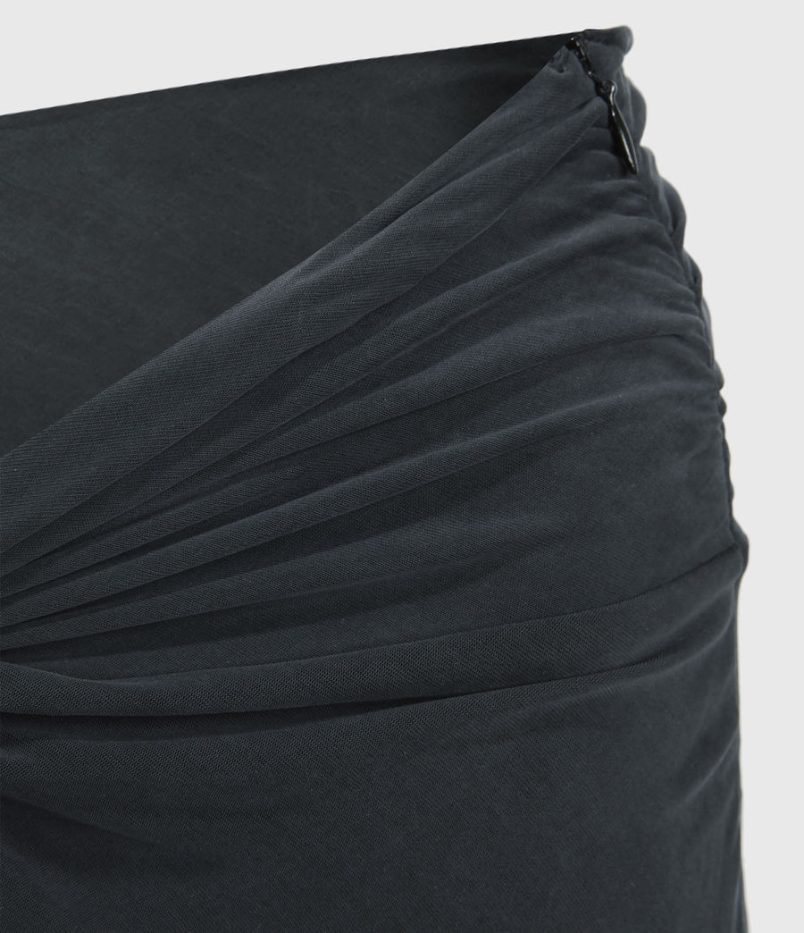 Womens Sami Skirt (black) - Image 4