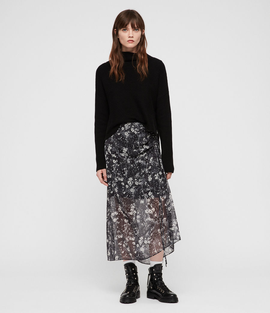 Women's Ariya Lisk Skirt (black) - Image 1