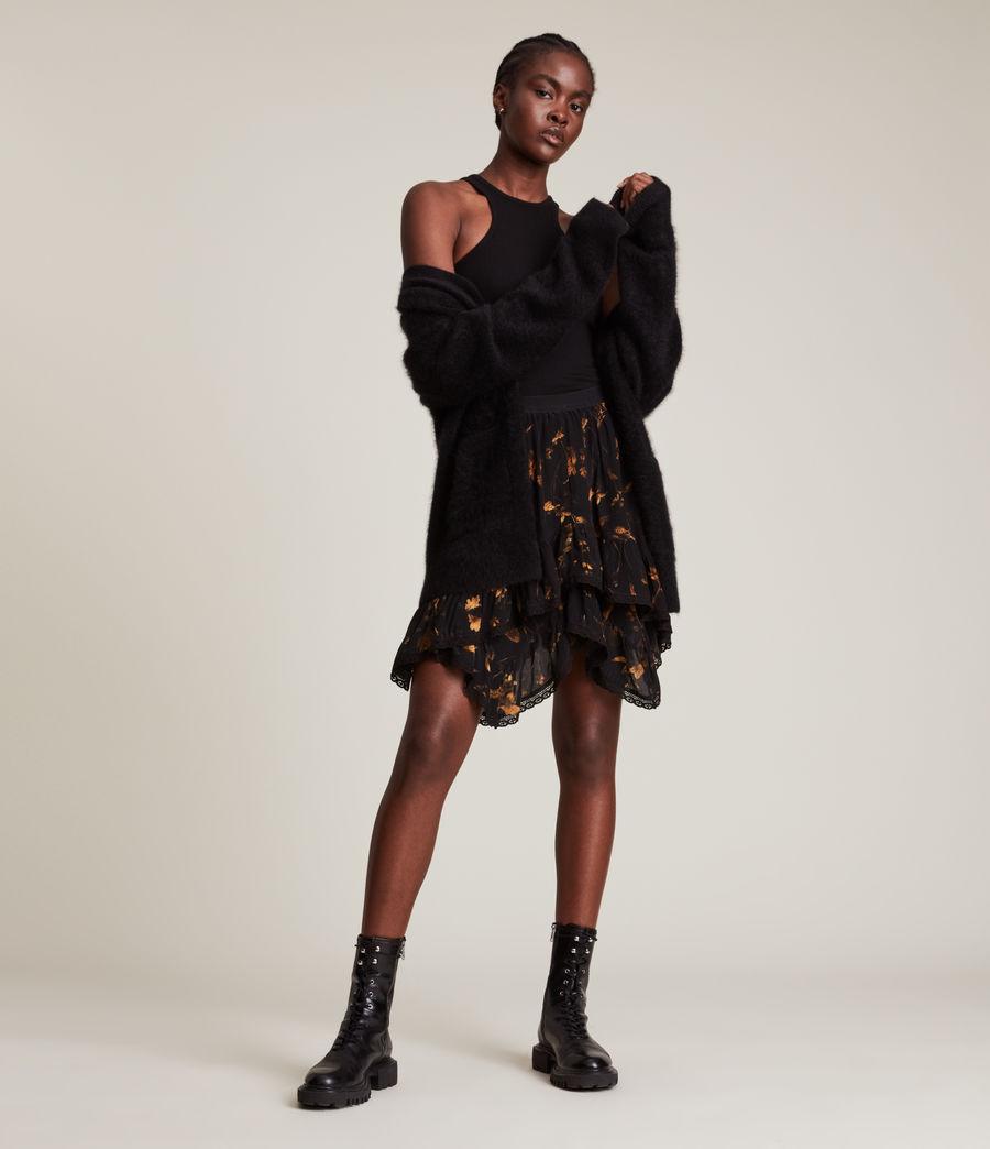 Women's Nico Heligan Skirt (black_gold) - Image 1