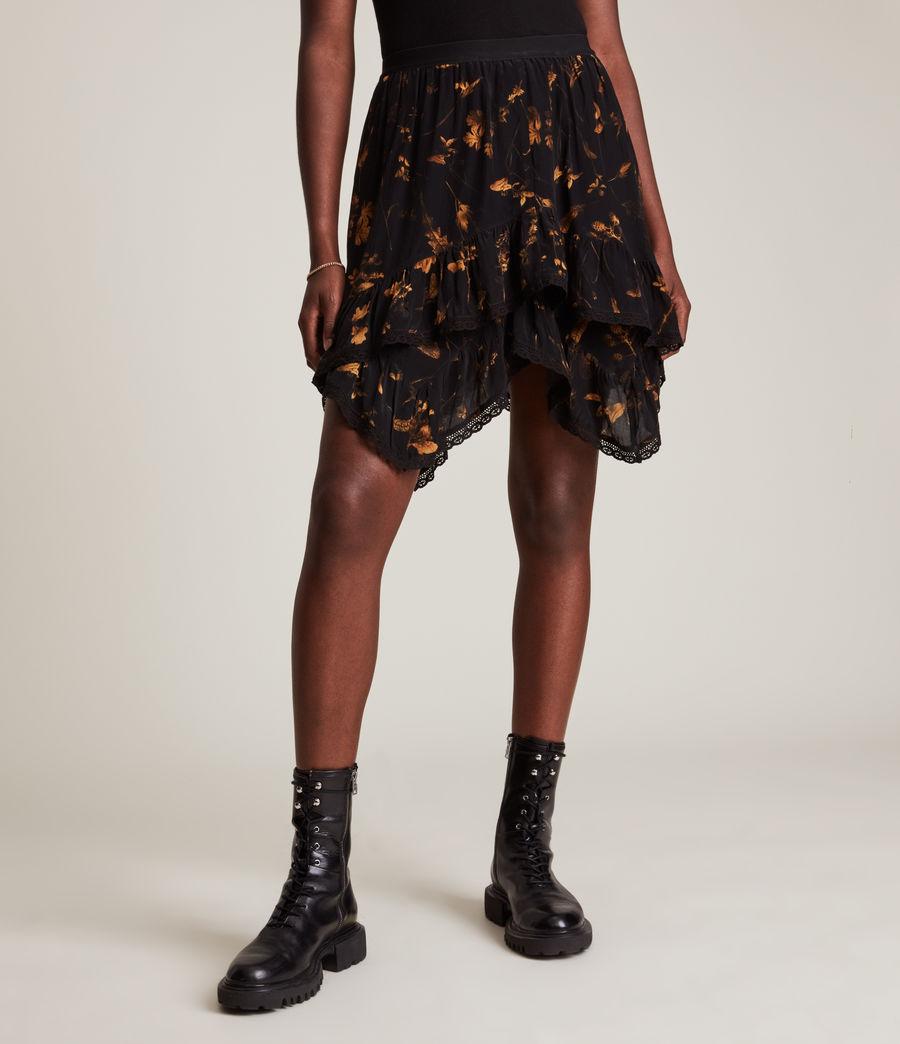 Women's Nico Heligan Skirt (black_gold) - Image 2