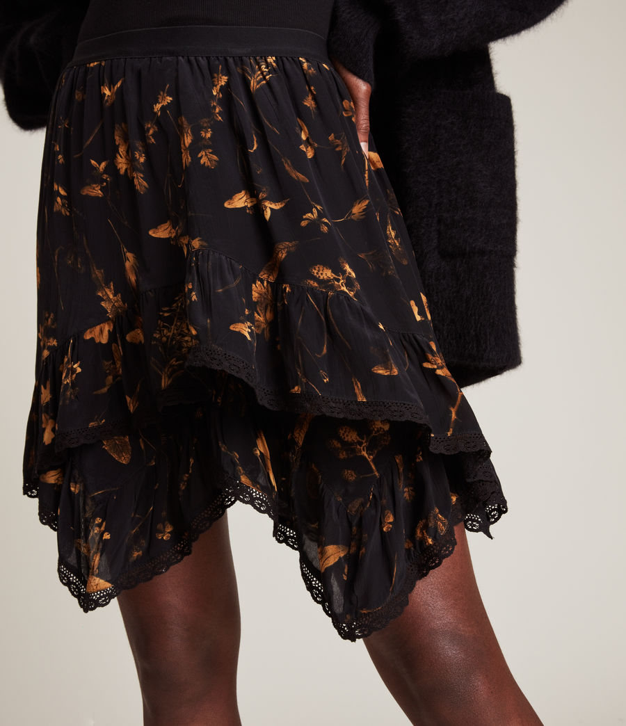 Women's Nico Heligan Skirt (black_gold) - Image 3