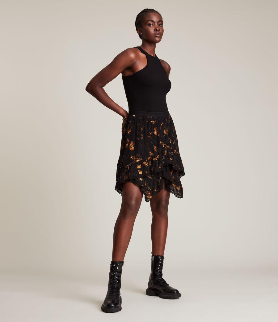 Women's Nico Heligan Skirt (black_gold) - Image 4