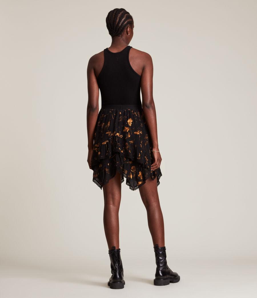 Women's Nico Heligan Skirt (black_gold) - Image 5